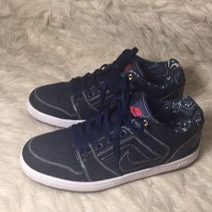 Like new Nike Air Force 2 denim sneakers
